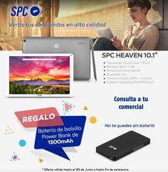 Con éste tablet de SPC verás tus contenidos en alta velocidad