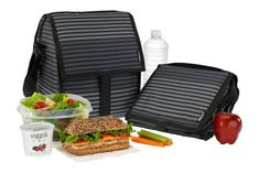 Looking for the perfect large insulated lunch bag? PackIt's Freezable Deluxe Lunch Bag is 30% larger than our Freezable Lunch Bag and easily accommodates wide food containers. Our patented cooling technology is built right into the bag, so you never need extra ice packs. The Deluxe is a great choice for people who carry breakfast and lunch to work or school. It's also one of the best insulated cooler bags for travel and outdoor activities like camping, hiking, hunting and fishing.