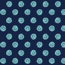 sand dollar - Indigo Turquoise custom fabric by jillbyers for sale on Spoonflower Beach Fabric, Turquoise Fabric, Retro Color, Creative Business, Surface Design, Fabric Patterns, Custom Fabric, Spoonflower, Fabric Design