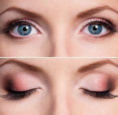 cool Красивый макияж для голубых глаз (50 фото) — Повседневный и вечерний образ пошагово Читай больше http://avrorra.com/makijazh-dlja-golubyh-glaz-poshagovo-foto/