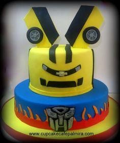 Transformers Car Cake