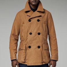 aaf7a3dde6682 DAVIN PEACOAT Canvas Jacket, G Star Raw, Raw Denim, Men s Coats And Jackets