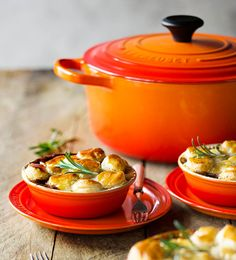 Lamb and Mushroom Pies - Le Creuset Recipes