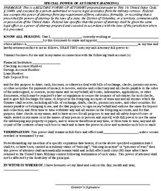 Sample Letter For Invalid Power Of Attorney Template  Power Of