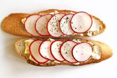 Ingredients: butter, radishes, baguetteWhy: Deceptively easy and elegant to impress the in-laws. Get the recipe here.