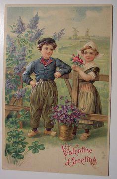 https://flic.kr/p/4rXPMq | Vintage Valentine's Day Postcard