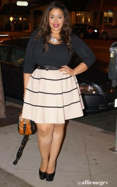 alliemcg: New post up on the blog featuring City Chic and New York & Co. More here at my blog: http://bit.ly/16vgKjA