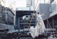 the fashion box ~ view topic - high art - natalia vodianova - by annie leibovitz