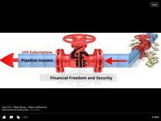 """a job  """"vs"""" residual income"""