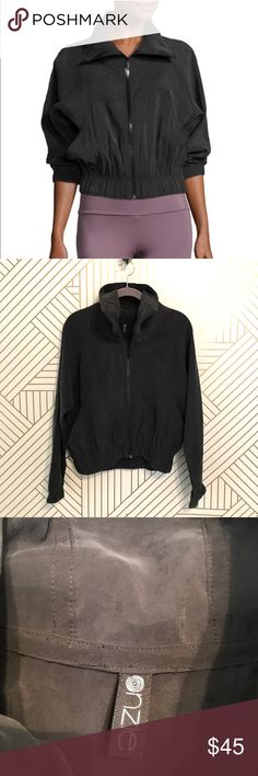 efb14c7952301 Onzie Retro Suede Lack Woven Jacket This jacket is really cute, the scrunch  part hits