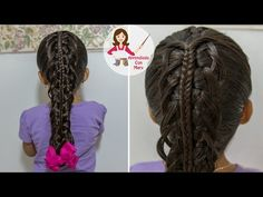 PEINADO DE TRENZA DOBLE - YouTube
