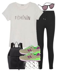 """Untitled #3311"" by hellomissapple on Polyvore featuring rag & bone, Mansur Gavriel, New Balance Classics, ASOS and Wildfox"