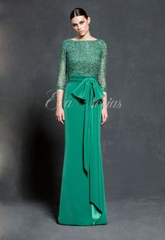 Vestido de fiesta Vicky Martín Berrocal 2016 Modelo 408 en Eva Novias Madrid. #vestido #boda #invitada #modamujer #dress #fashion #madrina