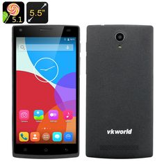 http://www.andnykstore.com/vkworld-vk560-smartphone-black.html A phone with a 5.5 inch display, MT6735 quad core processor, 4G and Android 5.1 is finally here and it's cheap. Actually, the VKWorld VK560 is one of the cheapest smartphones out there combining a 5.5 inch display and an MT6735 quad core CPU, so there's a lot to be excited about. The 5.5inch 960x540 IPS screen itself is a gift to all your media files in itself and a powerful MT6735 Quad Core CPU backed up by 1GB of RAM will…