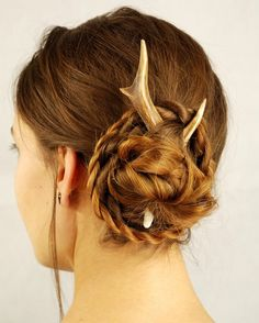 In Love with this Pagan Braided Bun!!!