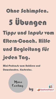 Mama-Coaching. Inputs und Tipps für die Erziehung, Familienleben und Alltag. Erklärt vom Eltern-Coach. Kostenlos zum Anhören und Downloaden.