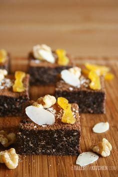 Raw Chocolate Walnut Brownies