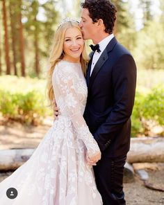 Wedding photos, long sleeve wedding dress, blond hair