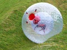 #Zorbing is essentially rolling down a hill in a giant inflatable ball...! Trust us, you'll want to do it over and over again. This is certainly a memorable activity for your hen do http://www.lastnightoffreedom.co.uk/hen-weekends/