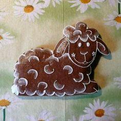 baránok Easter Cupcakes, Easter Cookies, Palette Pastel, Gingerbread House Designs, Honey Cookies, Biscuit Cookies, Easter Brunch, Cake Tutorial, Holiday Baking
