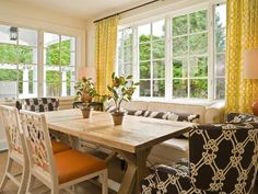 Photo of Beige Traditional Dining Room project in Medina, WA by Graciela Rutkowski Interiors