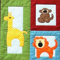 @AccuQuilt even has a die that cuts Zoo Animals!  And a FREE pattern to make a fun Zoo Blocks Quilt! #PQ10263. Learn more about us on AccuQuilt.com