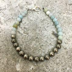 A personal favourite from my Etsy shop https://www.etsy.com/uk/listing/399273289/pyrite-fools-gold-amazonite-genuine   #crystal #Etsyukseller #gemstone #chakra #shop #gifts #spiritual #birthstone #genuine #etsy #UKjewellery #Bohemian