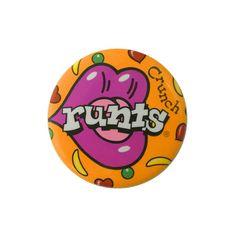 Runts - Vintage Wonka Promotional Badge