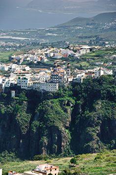 #Moya desde la zona recreativa de Santa Cristina, #GranCanaria #IslasCanarias