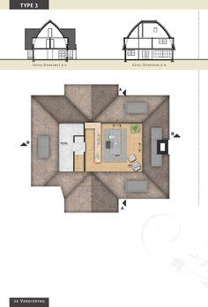 Voorbeeldvilla type 3 - zolderverdieping