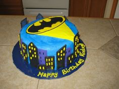 Batman cake By kcw551 on CakeCentral.com