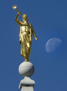 20 little-known facts about the Mormon Angel Moroni statue | Deseret News... Some fun little facts!