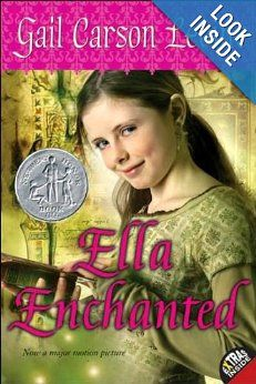 Ella Enchanted (Trophy Newbery): Gail Carson Levine Had fun reading this with the kids. Still delightful.