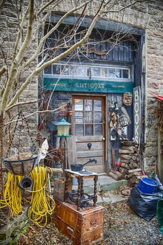 The Closed and Creepy Antique Shop