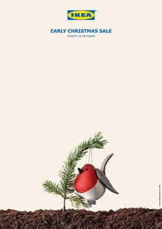 IKEA Portugal: Early Christmas sale. Advertising Agency: TBWA, Lisbon, Portugal