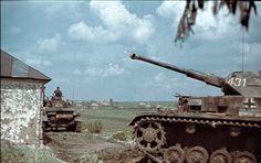 Panzer IV tanks Russia