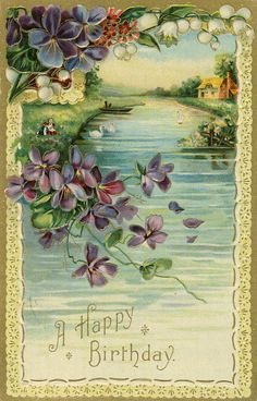 Antique Greeting Postcards - Collecting Sets