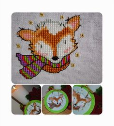 Sally's Stitches: A Snowy Mr Fox