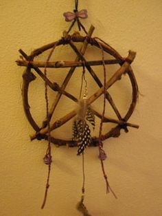 witch wreath protection against evil by Magicandfantasy.