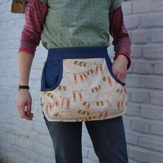peg apron again More