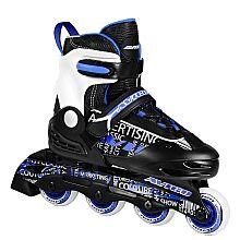 AVIGO - Inline Skates Semi Soft A5 blau/schwarz, Gr. 28-31