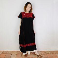 マライカ | チアパス刺繍ウィピルワンピース | ファッション,ワンピース