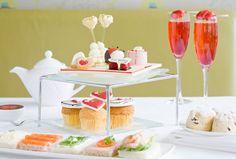 Valentines Afternoon Tea at The Hilton Hotel, Park Lane.