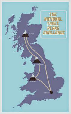 Three peaks challenge. www.dearfriendlondon.com