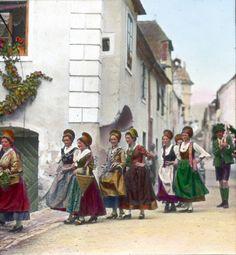 Wachauer Trachtengruppe, © IMAGNO/Öst. Volkshochschularchiv