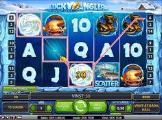 Spela Lucky Angler slot machine och vinn riktiga pengar hos MrGreen Casino