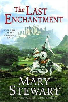 The Last Enchantment (Arthurian Saga, #3) by Mary Stewart. The Last Enchantment was one of those fantasy novels that made me want to really take my time, just to savor the story itself, relishing not only in the classic Arthurian mythos that I love but also in the writing style of Mary Stewart.  Beginning with Arthur just having been proclaimed King after Uther's death, and watch him, through Merlin's eyes as he grows into his role. All of the pageantry of the Arthurian legends unfold here.