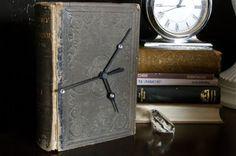 book clock tutorial