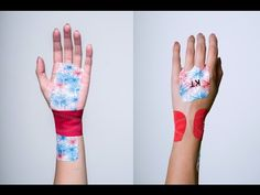 KT Tape Carpal Tunnel Syndrome Wrist Application - YouTube