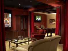 8 Dreamy High-End Home Theaters